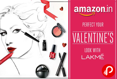 Lakme Make-Up 20% off | Perfect Valentine Look - Amazon