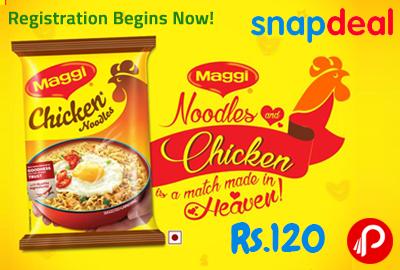 Maggi Chicken Lover's Kit Pack