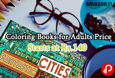 Coloring Books for Adults Price Starts at Rs.140 - Amazon