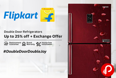 Double Door Refrigerators | Up to 25% Off + Exchange Bonus Extra - Flipkart
