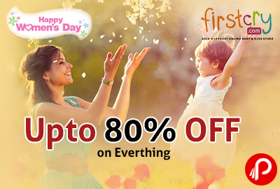 Happy Women's Day! Upto 80% OFF on Everything - Firstcry