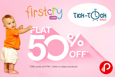 Flat 50% on Toys | Tick-Tock Sale - Firstcry