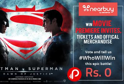Batman V Superman Get A Free Movie Premiere Invite