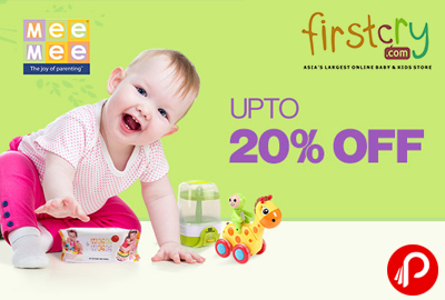 Baby, Kids & Maternity Mee Mee Products Upto 20% Discount - Firstcry