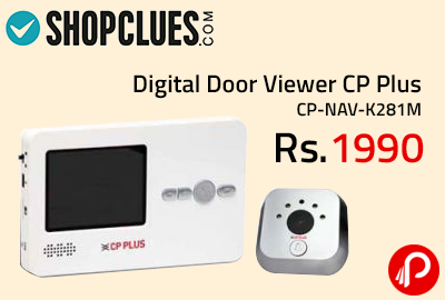 Digital Door Viewer CP Plus CP-NAV-K281M at Rs.1990 - Shopclues