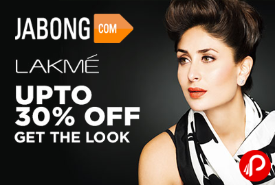 Lakme Products Upto 30% off - Jabong