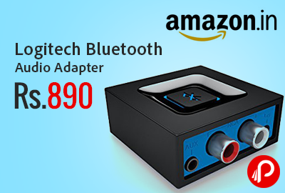 Logitech Bluetooth Audio Adapter at Rs.890 - Amazon
