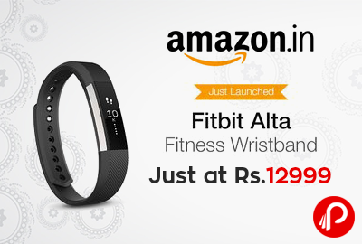 Fitbit Alta Fitness Tracker Just at Rs.12999 - Amazon