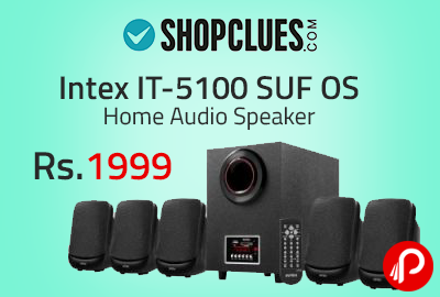 Intex IT-5100 SUF OS Home Audio Speaker at Rs.1999 - Shopclues