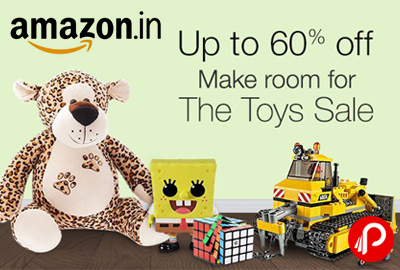 The Toys Sale Upto 60% off | Make Room For - Amazon