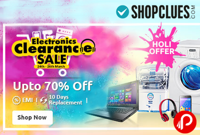 Electronic & Gadgets Upto 70% off | Electronic Clearance Sale - Shopclues