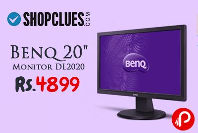 "Benq 20"" Monitor DL2020 at Rs 4899 - Shopclues"