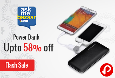 Power Bank Upto 58% off Flash Sale - AskMeBazaar