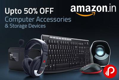 Computer Accessories & Storage Devices Upto 50% off - Amazon
