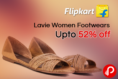 Lavie Women Footwears Upto 52% off - Flipkart