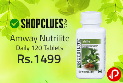 Amway Nutrilite Daily 120 Tablets at Rs.1499 - Shopclues