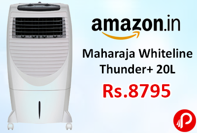 Air Coolers Online : Maharaja Whiteline Thunder+ 20L Just Rs.8795 - Amazon