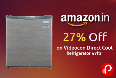Get 27% off on Videocon Direct Cool Refrigerator 47ltr Just Rs.6200 - Amazon