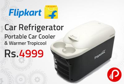Car Refrigerator Portable Car Cooler & Warmer Tropicool at Rs.4999 - Flipkart