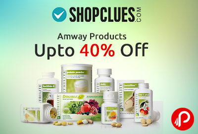 Amway Products upto 40% off - Shopclues