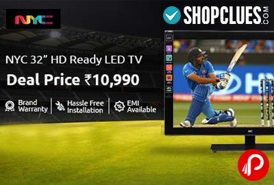 LED TV NYC 32 inch HD Ready at Rs.10990 - ShopClues