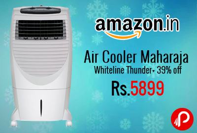 Air Cooler Maharaja Whiteline Thunder+ 39% off at Rs.5899 - Amazon