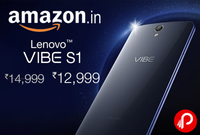 Lenovo Vibe S1 Mobile Just at Rs.12999 - Amazon