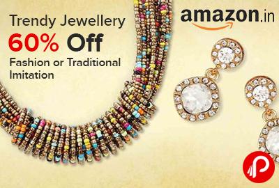 Trendy Jewellery 60% off | Fashion or Traditional Imitation - Amazon