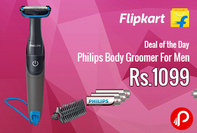 Philips Body Groomer For Men at Rs.1099 - Flipkart