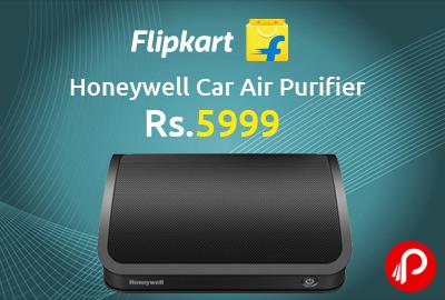 Honeywell Car Air Purifier at Rs.5999 - Flipkart