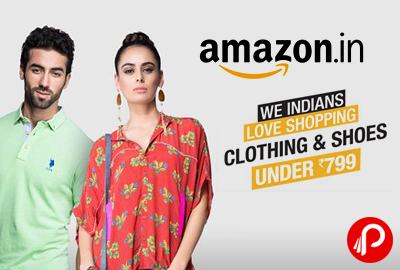 Clothing & Shoes Under Rs.799 - Amazon