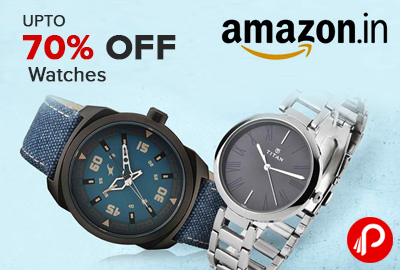 Get Upto 70% off on Watches | Amazon Fashion - Amazon