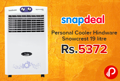 Personal Cooler Hindware Snowcrest 19 litre Just at Rs.5372 - Snapdeal