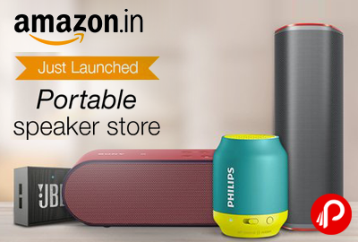 Portable Speaker Store | Just Launched - Amazon