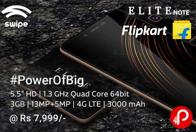 Swipe Elite Note 16GB Mobile Just at Rs.7999 - Flipkart