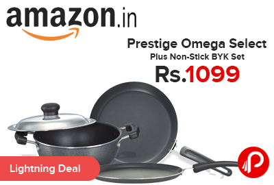 Prestige Omega Select Plus Non-Stick BYK Set Just Rs.1099 - Amazon