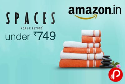 Towel Sets Spaces Under Rs.749 - Amazon