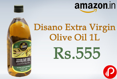 Get 40% off on Disano Extra Virgin Olive Oil 1L at Rs.555 - Amazon