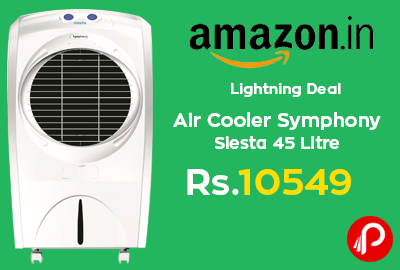 Air Cooler Symphony Siesta 45 Litre at Rs.10549 - Amazon