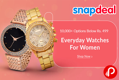 Everyday Watches for Women Below Rs.499 - Snapdeal