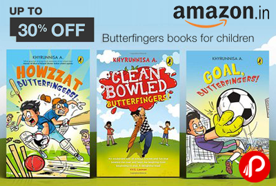 Butterfingers Books By Khyrunnisa A Upto 30% off - Amazon