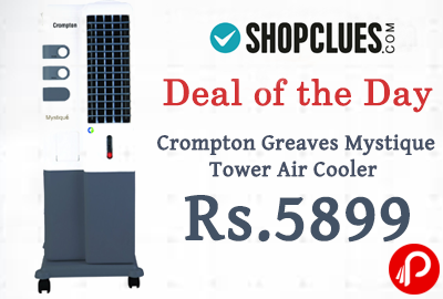 Tower Air Cooler Crompton Greaves Mystique at Rs.5899 - Shopclues