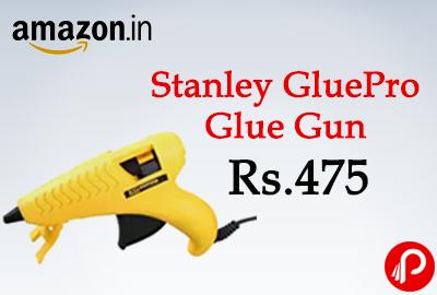 Get 35% off on Stanley GluePro Glue Gun at Rs.475 - Amazon