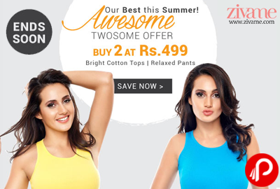 Buy 2 Tops @ Rs.499