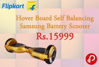 Hover Board Self Balancing Samsung Battery Scooter at Rs.15999 - Flipkart