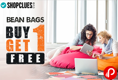 Buy 1 Get 1 Free Bean Bags Cover - Shopclues