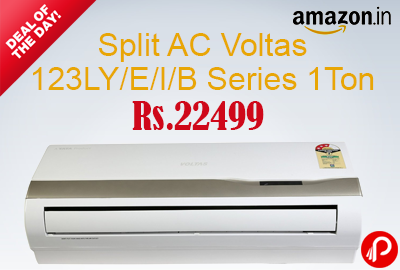 Split AC Voltas 123LY/E/I/B Series 1Ton 34% off Just Rs.22499 - Amazon