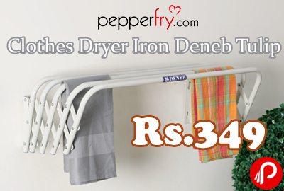 Clothes Dryer Iron Deneb Tulip 68% off Rs.349 - Pepperfry
