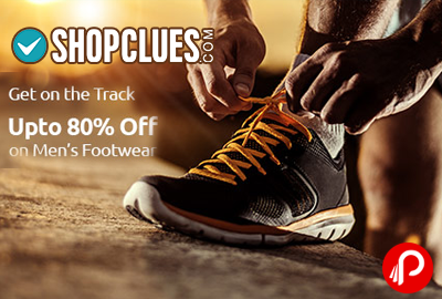 Footwear Men's Upto 80% off | Get on the Track - Shopclues