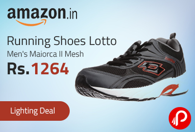 Running Shoes Lotto Men's Maiorca II Mesh Just at Rs.1264 - Amazon